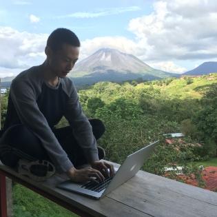 Coding near a volcano