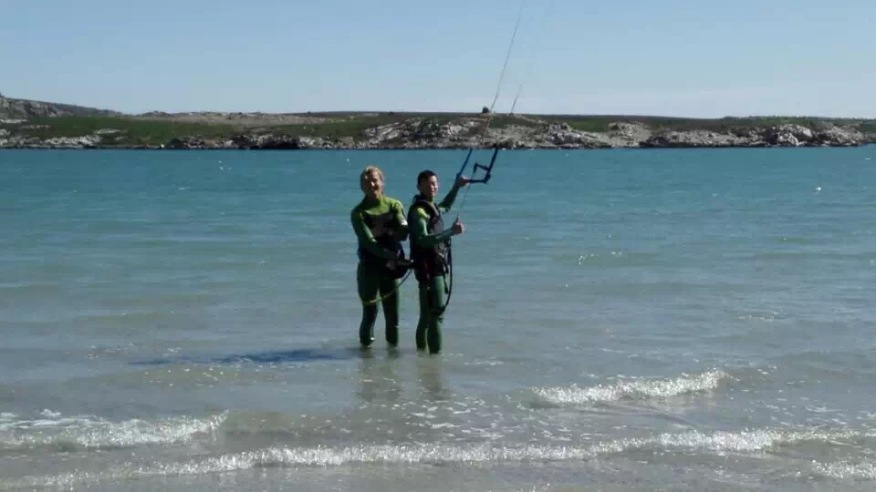 Learning Kitesurfing in South Africa
